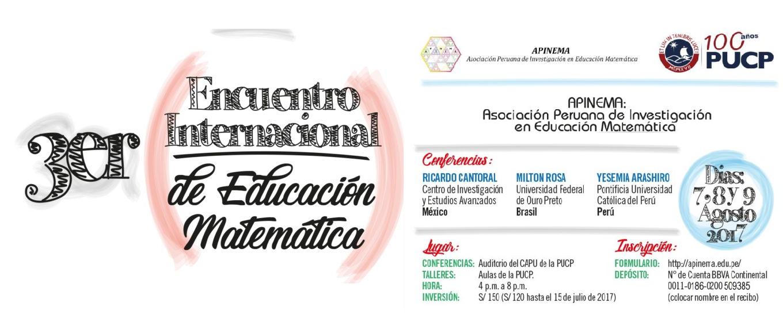 III Encuentro Internacional de Educación Matemática